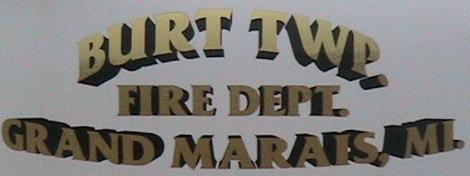 Burt Township Fire Dept.