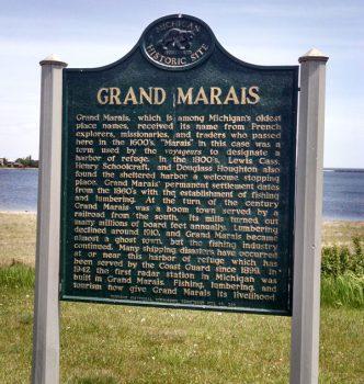 grand marais history
