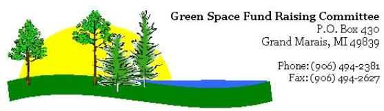 green space fundraising