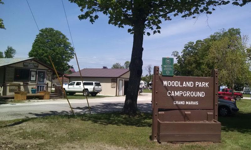 Woodland Park Campground - Burt Township - Grand Marais, MI